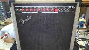 FENDER MADE IN USA M80
