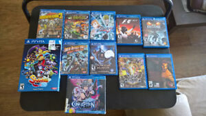 Playstation Vita Games (21), New and Used Excellent condition