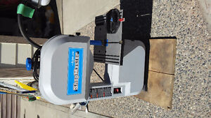 Band saw, router with bits, orbital cutter etc
