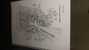 Trees and Shrubs Textbook for FSTY-50 fleming college