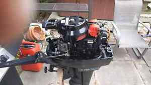 9.8 merc outboard for sale Stratford Kitchener Area image 1