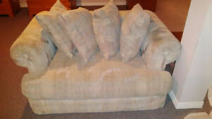 Free- love seat and large chair Kitchener / Waterloo Kitchener Area image 2