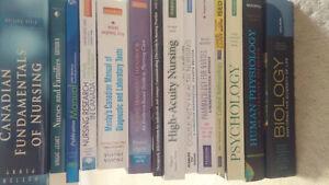 Nursing textbooks for sale!