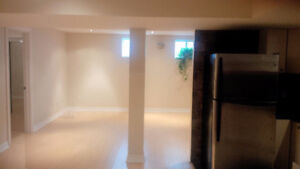 BRIGHT BASEMENT FOR RENT - FEB 01st - MILTON
