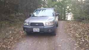 2005 Subaru Forester for sale AS IS Peterborough Peterborough Area image 3