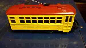 Lionel #60 trolley O scale