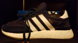 Men's Blue Adidas Iniki Runner size 9.5 DS 100% Authentic