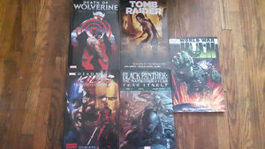 Marvel and Dark Horse graphic novels