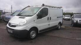 Vauxhall Vivaro1.9cdti ex-bt fleet
