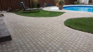 Santerra Landscaping book now for interlocking repairs and more