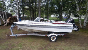Johnson Marvac Motorboat for sale.