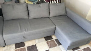 Ikea FRIHETEN corner sofa and pull out bed.
