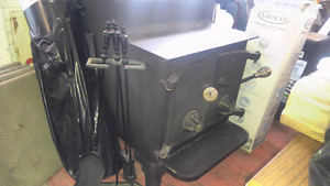 Wood stove and pieces