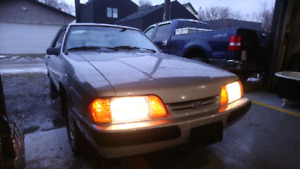 1991 FORD MUSTANG 2D COUPE 2.3L