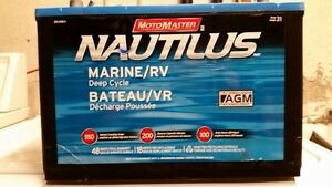 Wanted: deep cycle marine battery
