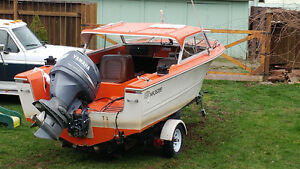 1977 17.5ft hardtop double eagle with outboards....fish ready