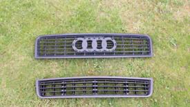 Audi A4 B6 (2001-2004) bonnet and bumper grills