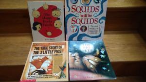 5 Jon Scieszca and/or Lane Smith children's picture books