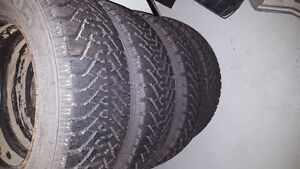 V.Good condition Goodyear winter tire 195/65R15 Belleville Belleville Area image 3