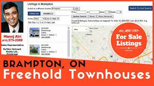 Freehold Townhouses Brampton