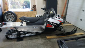 Snowmobile low hrs and miles