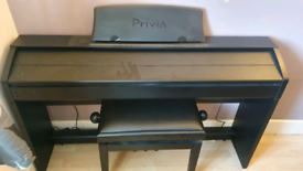 Casio privia px 750 with stool