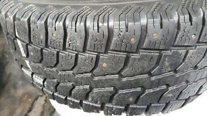 Winter Cat snow tires 235/75 R15