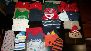 6-12 month boy clothes - Halloween and Christmas included