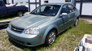 2oo5 Chevy Optra .. good for parts !