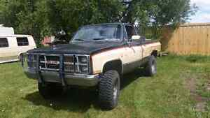 1984 GMC Sierra Classic aka Rusty Business