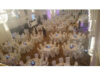 Chair Cover Hire 75p & FREE SASHES BEDFORDSHIRE