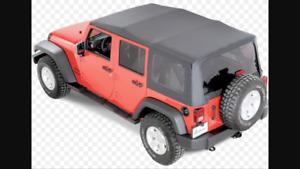 Toit Jeep JK 4 portes