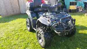 2005 outlander xt 400 with plow