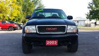 2003 GMC Sonoma ZR-2 4X4 *** sale priced $2995 ***