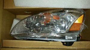 2002-2004 NISSAN ALTIMA DRIVERS SIDE HEAD LAMP