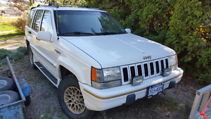 looking to trade 1995 Jeep Grand ch limited for a tent trailer