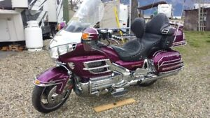 2004 Goldwing 1800 with matching trailer