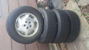 4 winter tires with rims Cornwall Ontario image 1