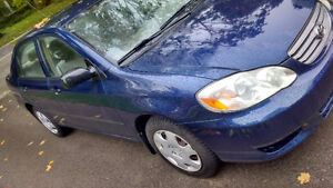 $1900 Used - 2003 Toyota Corolla (Great Condition!)
