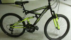 Huffy  24 in mountain bike