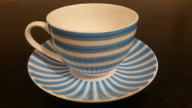 Cashmere tea cup and saucer £8