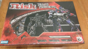 Risk ~ Transformers : Cybertron Battle Edition