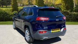 2015 Jeep Cherokee 2.0 CRD (170) Limited 5dr Automatic Diesel 4x4