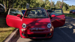 Fiat 500 Sport 2013 CUIR/TOIT - 69500 Km - NEW WINTER TIRES