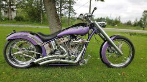 Very Awsome Custom Soft tail Harley Davison