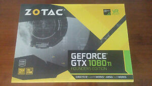 Zotac 1080 Ti Founders Edition - Unopened - Save the tax