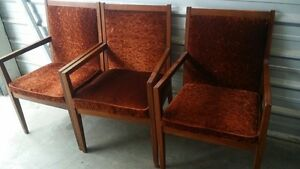 3 side chairs