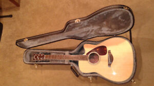 Yamaha acoustic/electric for sale or trade