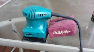 Makita Finish Sander Model #BO-4552 Made in USA