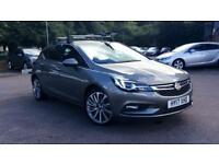 2017 Vauxhall Astra 1.6 CDTi Bi-Turbo 16V 160 Elit Manual Diesel Hatchback